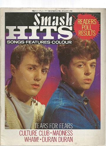Smash Hits Dec 1982 ft. Tears For Fears