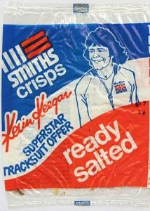 Old Smiths Crisps Packet 1980s - Ready Salted