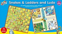 Snakes & Ladders and Ludo double game