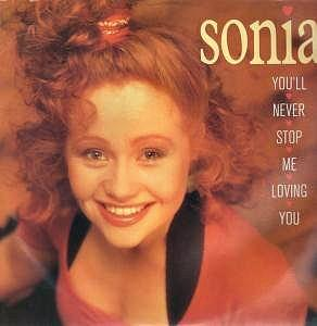 SOnia - You'll Never Stop Me Loving You (1989)