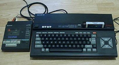 Sony MSX Hit-Bit (HB-75p) Computer with cassette drive