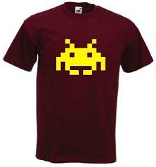 Men's 80s Space Invader T-shirt