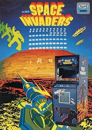 Space Invaders promotional flyer (1978) by Taito