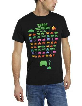 Space Invaders T-shirt for men