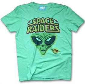 Retro Soace Raiders corn snacks T-shirt