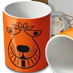 Retro 70s Space Hopper Mug