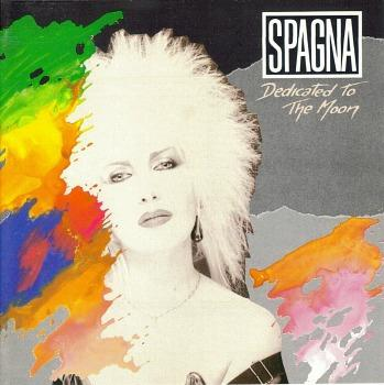 Spagna - Dedicated To The Moon (1987) album sleeve