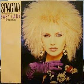 Spagna - Easy Lady (1986) UK 12