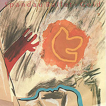 Gold single sleeve front - Spandau Ballet