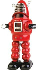 Sparking Tin Robot 1960s toy