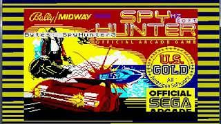 Spy Hunter tape loading screen - ZX Spectrum