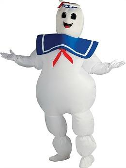 Ghostbusters Stay Puft Marshmallow Man Inflatable Costume