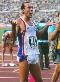 Steve Ovett in the 80s