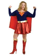 Angels Super Girl Plus Size Costume Adults