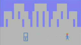 screenshot from Superman on Atari 2600