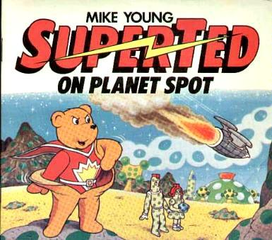 Superted On Planet Spot