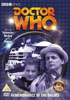 Doctor Who DVD ft. Sylvester McCoy - Remembrance Of The Daleks