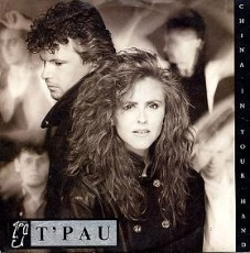 T'Pau - China In Your Hand - single sleeve