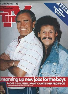 TV Times April 1986 ft. Cannon & Ball