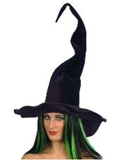Tall and Twisty Witch Hat