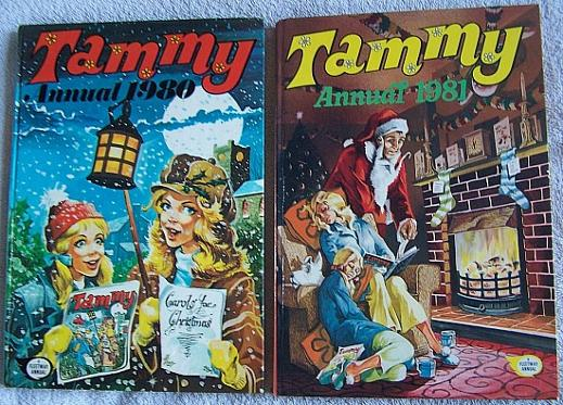 Tammy Annuals 1980 and 1981 by Fleetway