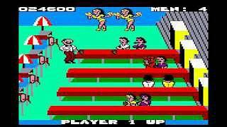 Tapper Game on the Amstrad CPC464