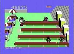 Tapper C64 video game (screen grab)