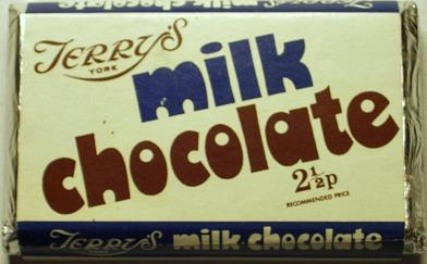 Terry's Milk Chocolate Bar 1970s