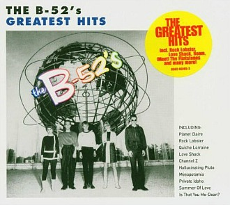 B52's Greatest Hits CD Album