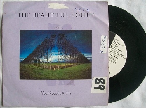 The Beautiful South - You Keep It All In (single sleeve)