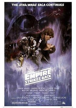 The Empire Strikes Back - Official Movie Poster