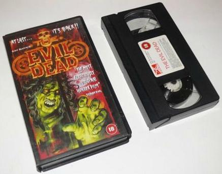 The Evil Dead (1980) VHS
