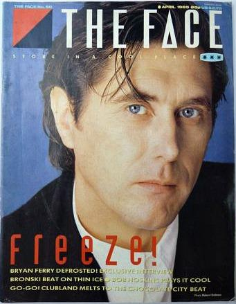 Bryan Ferry - The Face magazine No.60 April 1985