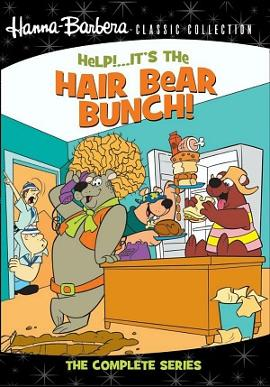 Help! It's The Hair Bear Bunch DVD