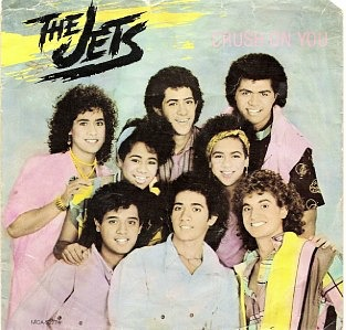 The Jets - Crush On You - Vinyl Sleeve