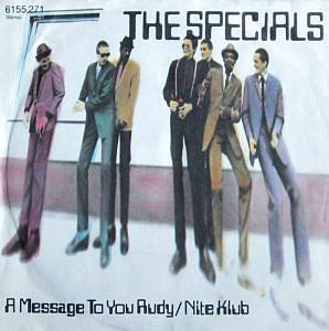 The Specials - A Message Toy You, Rudy (1979) single