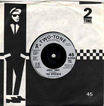 The Specials - Ghost Town - Two Tone Records