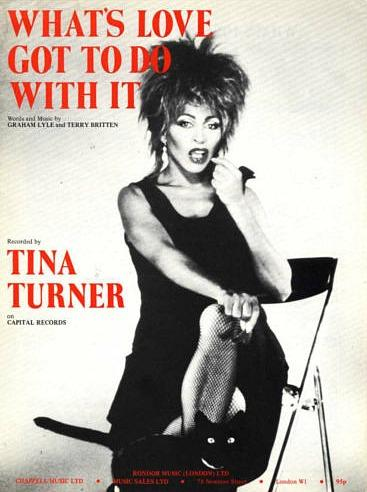 Tina Turner - What's Love Got To Do With It - 80s sheet music