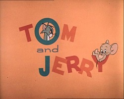 Tom and Jerry Title screen by Chuck Jones