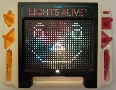 Tomy Lights Alive Toy 1980s