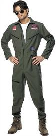 80s Top Gun Fancy Dress Costume for Men