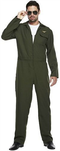 Top Gun Flight Suit - Jump Suit