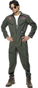 Top Gun Jumpsuit / Boiler Suit Costume