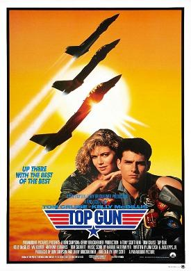 Tom Cruise and Kelly McGillis - Top Gun