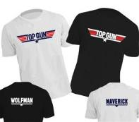 Top Gun 80s Movie T-shirts