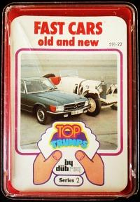 1970s Top Trumps Series 2 - Fast Cars old and new