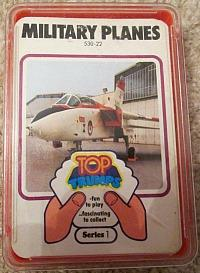Top Trumps in the 70s - Military Planes