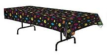 Totally 80s Gamers Plastic Table Cover