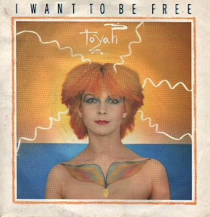 Toyah single sleeve for