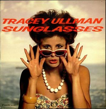 Tracey Ullman - Sunglasses - 12 inch single sleeve (1984)